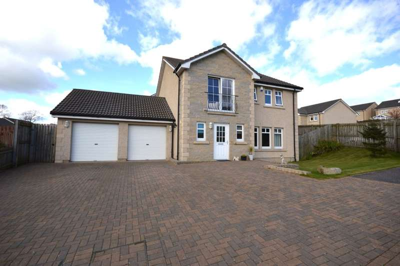 4 Bedrooms Detached House for sale in Blair Grove, Blairhall, Dunfermline, KY12