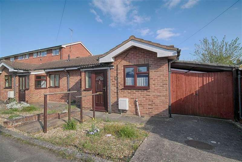 2 Bedrooms Semi Detached Bungalow for sale in Arle Close, Arle, Cheltenham, GL51