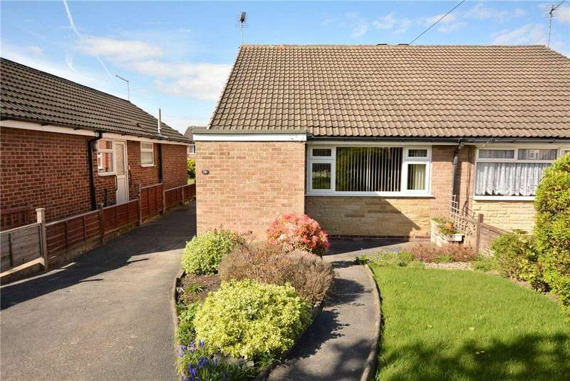 2 Bedrooms Semi Detached Bungalow for sale in Priestley Drive, Pudsey, West Yorkshire