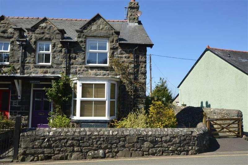 3 Bedrooms Cottage House for sale in Hendre Cottage, Llwyngwril, Gwynedd, LL37
