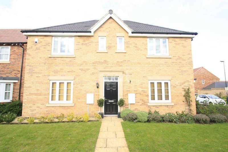 4 Bedrooms Detached House for sale in Queensbury Park Drive, Shelton Lock, Derby
