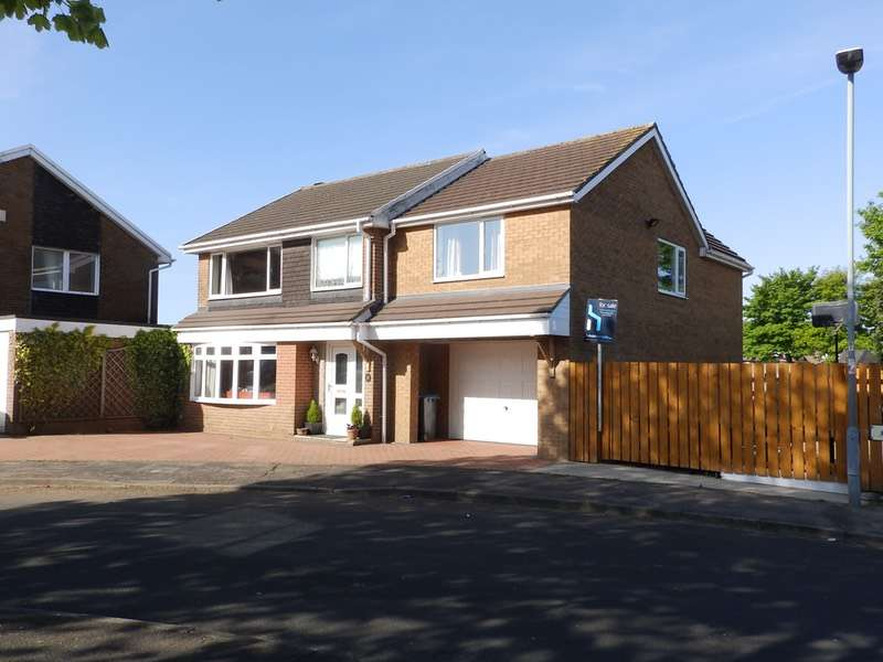 5 Bedrooms Detached House for sale in ROTHESAY, OUSTON, County Durham, DH2