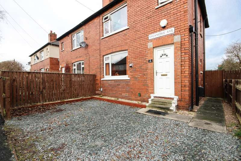 3 Bedrooms Semi Detached House for sale in Sycamore Avenue, Wakefield, West Yorkshire, WF2