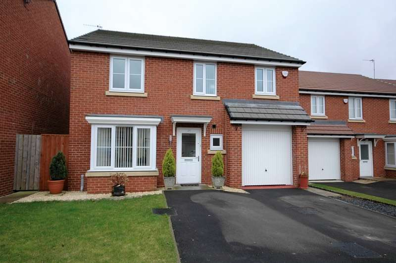 4 Bedrooms Detached House for sale in Ministry Close, Newcastle upon Tyne, Tyne and Wear, NE7