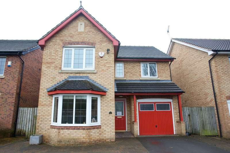 4 Bedrooms Detached House for sale in Pinsent Court, York, East Yorkshire, YO31