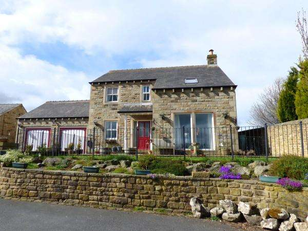 4 Bedrooms Detached House for sale in Kirk Hill House, Green Lane, Glusburn BD20 8RD