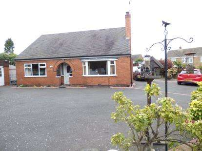 3 Bedrooms Bungalow for sale in Rowena Drive, Ashby-De-La-Zouch