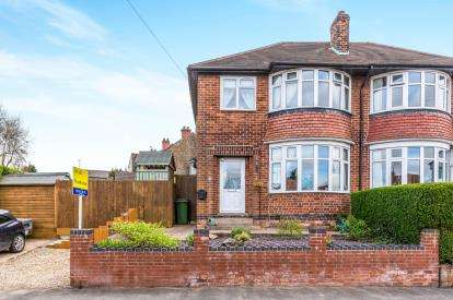 3 Bedrooms Semi Detached House for sale in Wentworth Road, Coalville, Wentworth Road, Coalville
