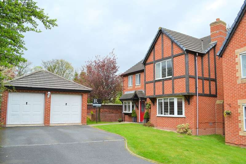 4 Bedrooms Detached House for sale in Church Lane, Armitage