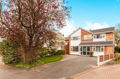 4 Bedrooms Detached House for sale in Bowden Close, Culcheth, Warrington, Cheshire