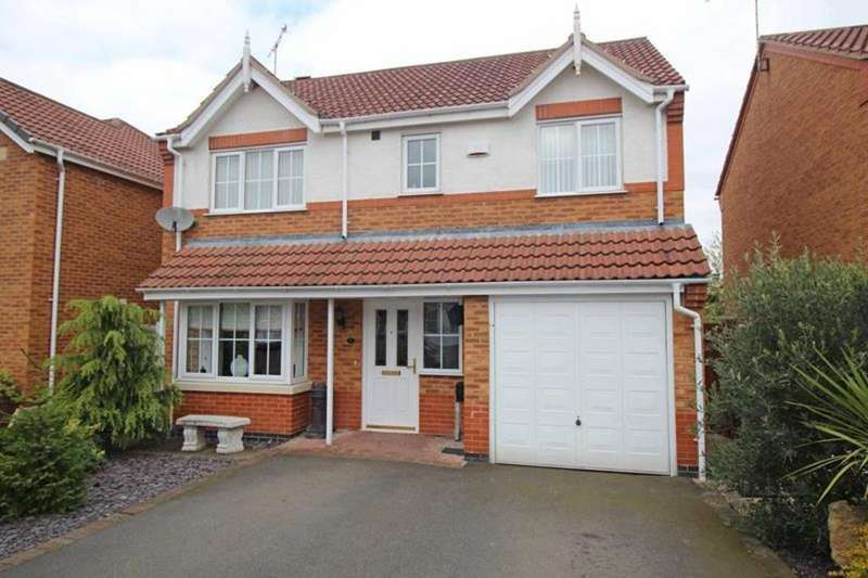 4 Bedrooms Detached House for sale in 7 Lindbergh Close, Worksop