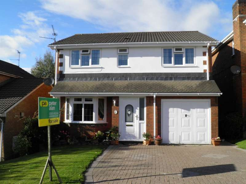 4 Bedrooms Detached House for sale in Clos Cwm Du, Pontprennau, Cardiff