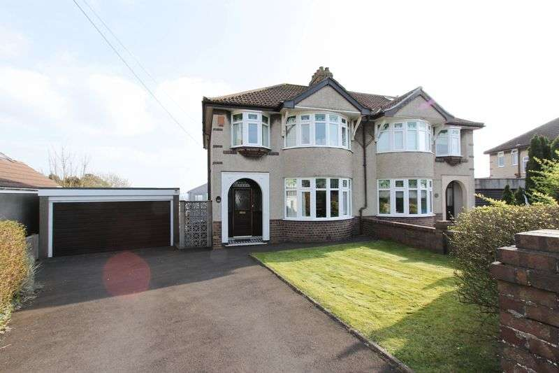 3 Bedrooms Semi Detached House for sale in Thackeray Road, Clevedon