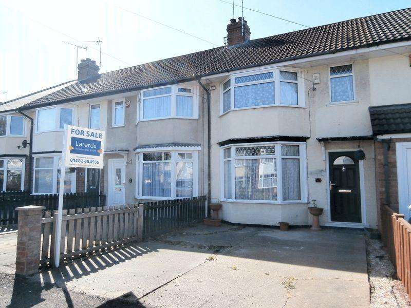 2 Bedrooms Terraced House for sale in Woodlands Road, Hull