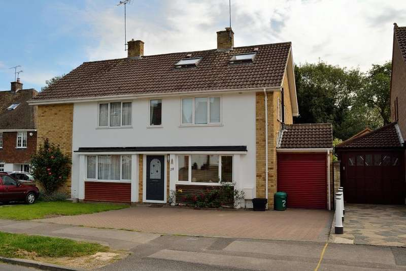 4 Bedrooms Semi Detached House for sale in Lakeside, Earley, Reading, Berkshire, RG6 7PQ