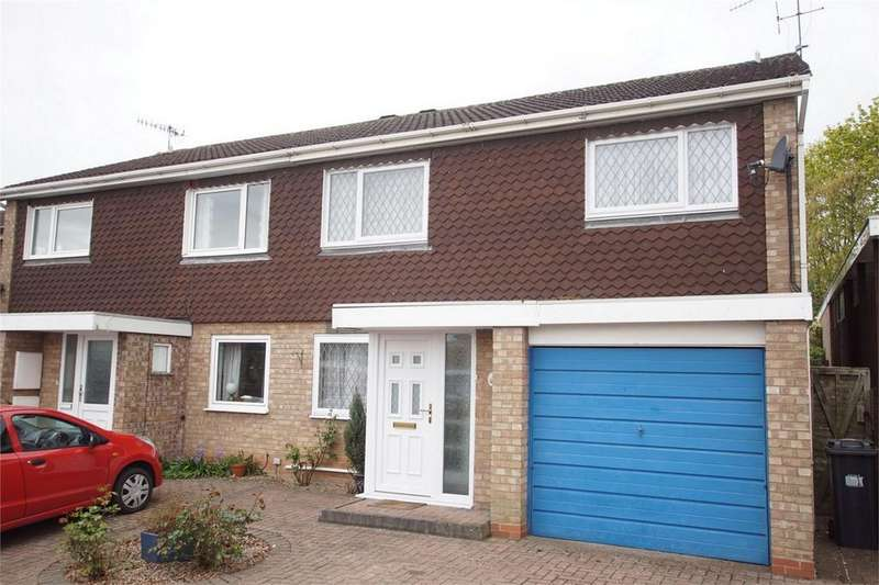 2 Bedrooms Semi Detached House for sale in Beaufell Close, Woodloes Park, Warwick