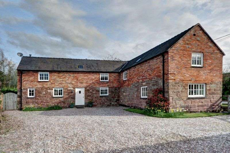 4 Bedrooms Detached House for sale in Fairoak, Eccleshall, Staffordshire