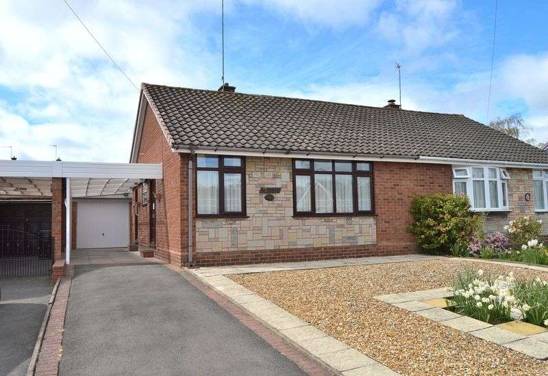 2 Bedrooms Semi Detached Bungalow for sale in Greencroft, Kingswinford