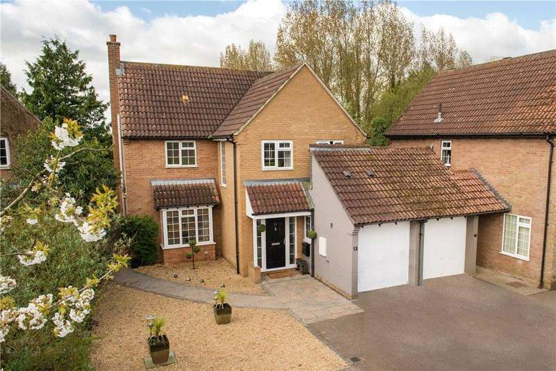 4 Bedrooms Detached House for sale in Vicarage Green, Thurleigh, Bedford, Bedfordshire