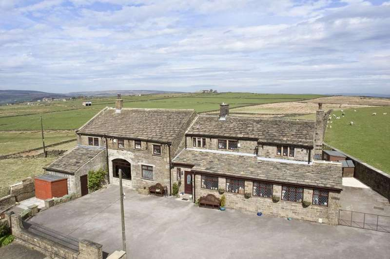 5 Bedrooms Unique Property for sale in Trough Lane, Oxenhope, Keighley, West Yorkshire