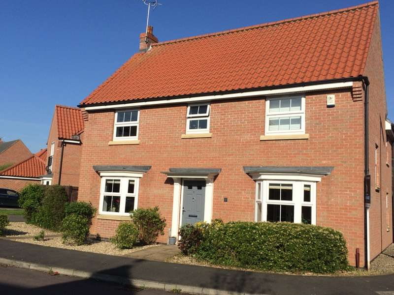 4 Bedrooms Detached House for sale in Carnell Lane, Fernwood, Newark, Nottinghamshire, NG24