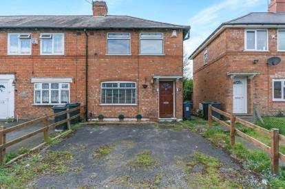 2 Bedrooms End Of Terrace House for sale in Tibland Road, Acocks Green, Birmingham, West Midlands