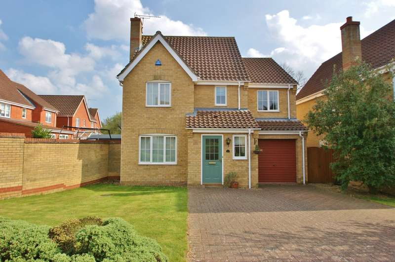 4 Bedrooms Detached House for sale in Canfor Road, Norwich