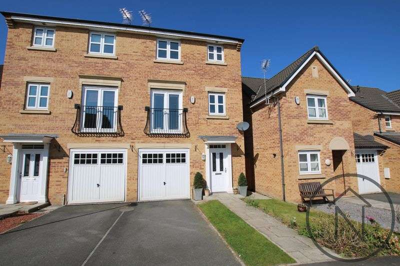 4 Bedrooms Semi Detached House for sale in Annand Way, Newton Aycliffe