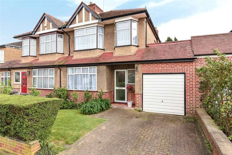 3 Bedrooms Semi Detached House for sale in Courtfield Gardens, Ruislip, Middlesex, HA4