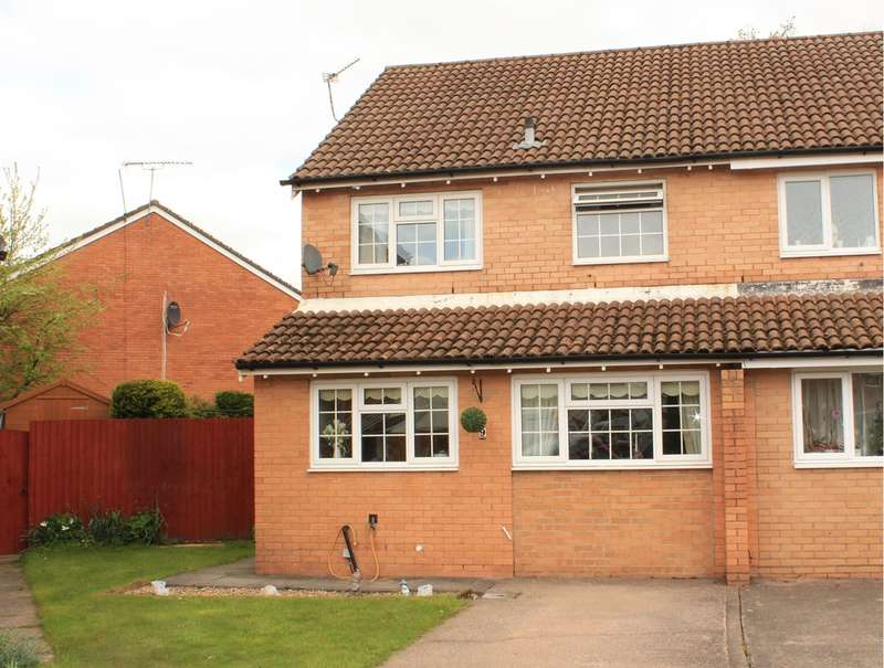 3 Bedrooms Semi Detached House for sale in Cherry Down Close, Thornhill, Cardiff