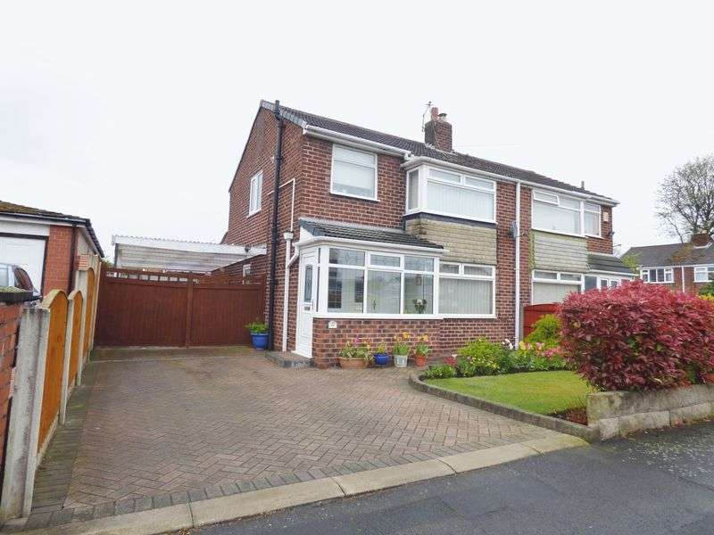 3 Bedrooms Semi Detached House for sale in Cherry Tree Avenue, Warrington