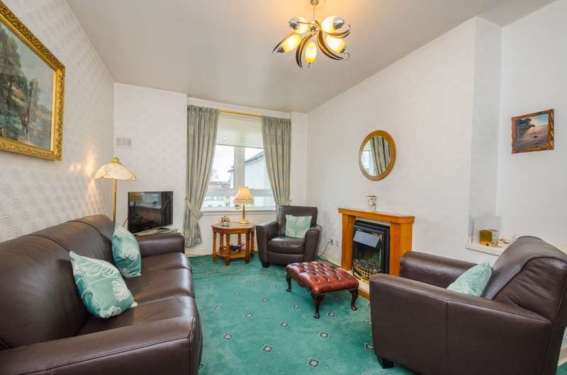 2 Bedrooms Flat for sale in Landressy Place, Glasgow, Lanarkshire, G40