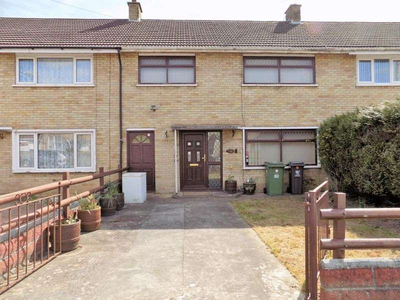 3 Bedrooms Terraced House for sale in Crediton Road Llanrumney CF3 5RL