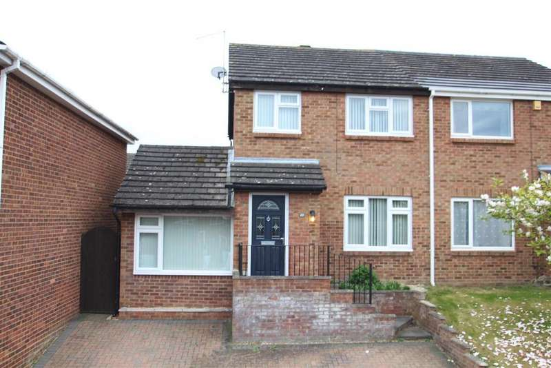3 Bedrooms Semi Detached House for sale in Lagonda Close, Newport Pagnell