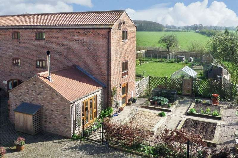 4 Bedrooms Mews House for sale in Manor Farm Barns, Foggathorpe, Selby, East Riding of Yorkshire