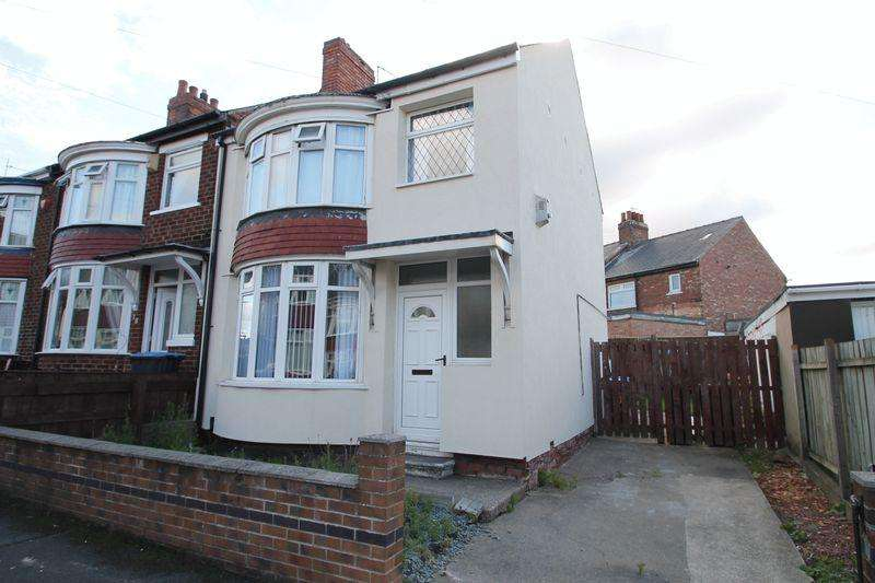 3 Bedrooms Terraced House for sale in Crathorne Crescent, West Lane, Middlesbrough TS5 4PE