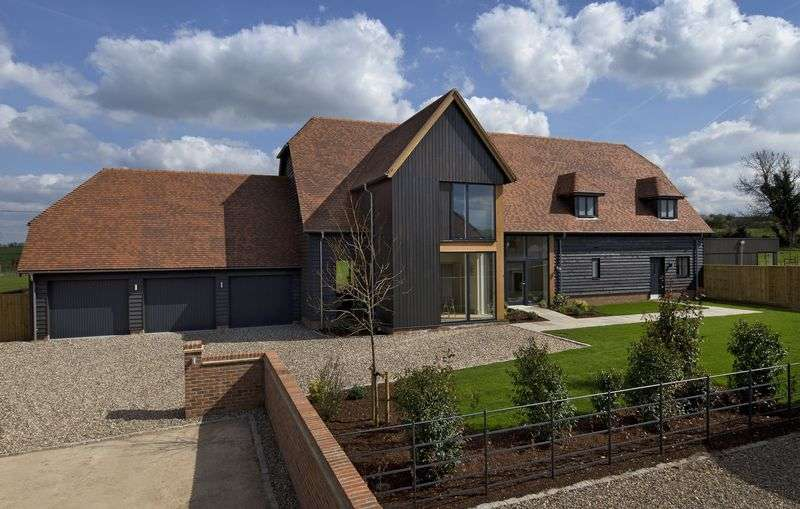 5 Bedrooms Detached House for sale in The Paddocks, Dropshort Farm, Childrey