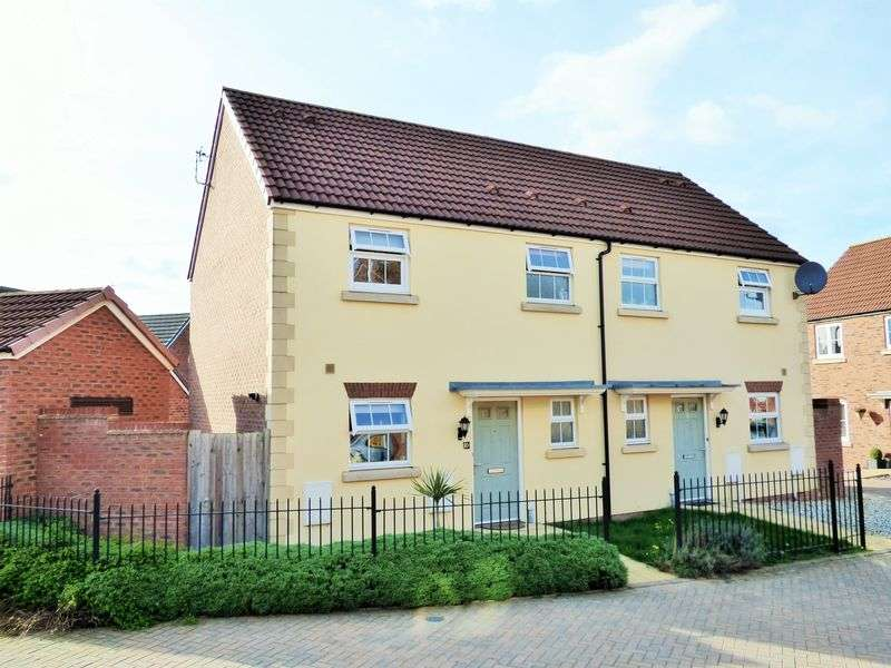 3 Bedrooms Semi Detached House for sale in Wainfleet Avenue Kingsway, Gloucester