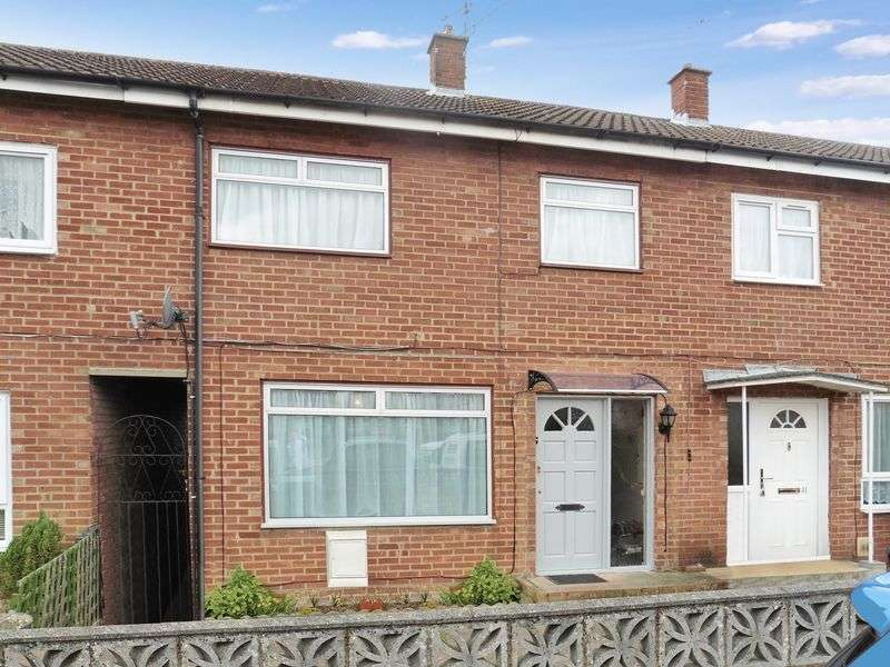 3 Bedrooms Terraced House for sale in Leaf Road, Dunstable