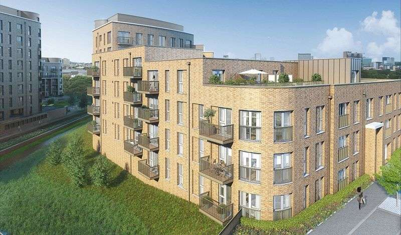 2 Bedrooms Flat for sale in Connersville Way, Croydon