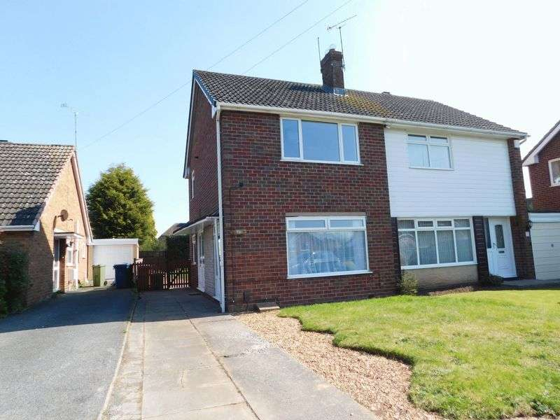 2 Bedrooms Semi Detached House for sale in Doxey Fields, Doxey, Stafford