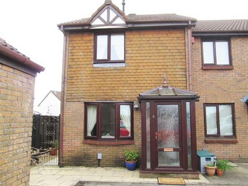 3 Bedrooms End Of Terrace House for sale in Rosemary Close, Swansea, SA2