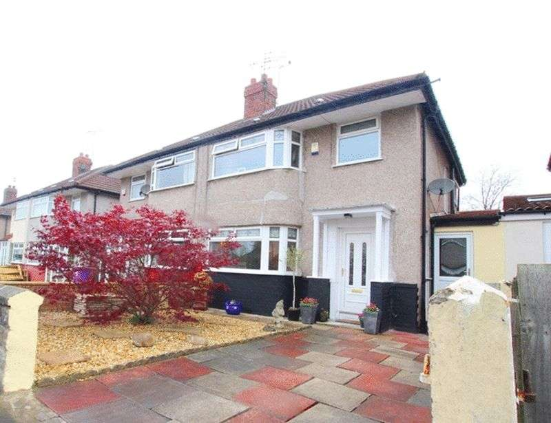 3 Bedrooms Semi Detached House for sale in Wayville Close, Mossley Hill, Liverpool, L18