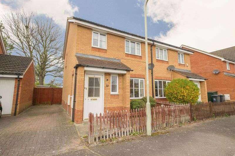 3 Bedrooms Semi Detached House for sale in Potter Way, Bedford