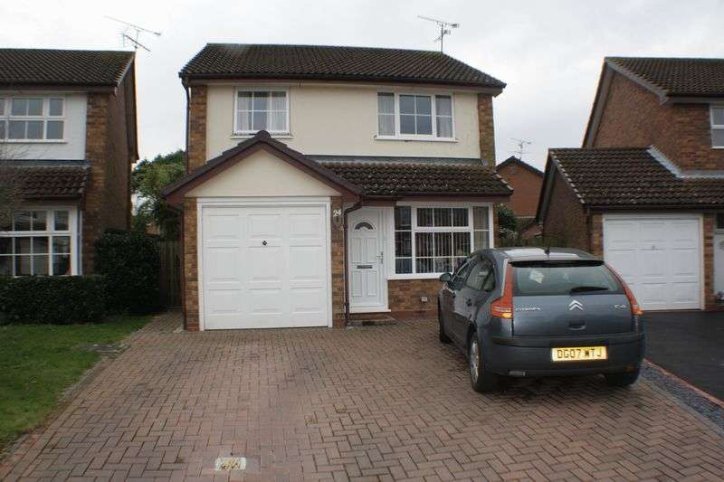 3 Bedrooms Detached House for rent in Nimrod Close, Woodley