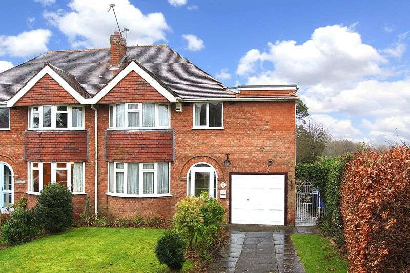 3 Bedrooms Semi Detached House for sale in CODSALL,Charters Avenue