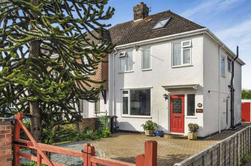 4 Bedrooms Semi Detached House for sale in Sellwood Road, Abingdon