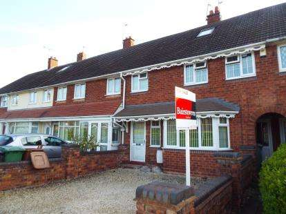 3 Bedrooms Terraced House for sale in Mossley Lane, Walsall, West Midlands
