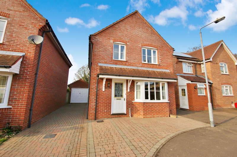 3 Bedrooms Detached House for sale in Tagg Way, Rackheath, Norwich