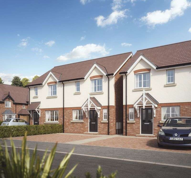 3 Bedrooms Semi Detached House for sale in Plot 8, Kings Vale , Baschurch